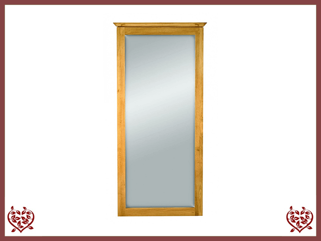 TEMPLE OAK WALL MIRROR Paul Martyn Furniture UK