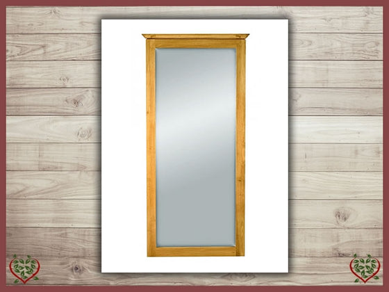 TEMPLE OAK WALL MIRROR | Paul Martyn Furniture UK