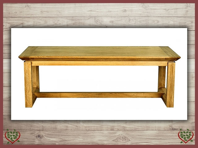 TEMPLE OAK COFFEE TABLE | Paul Martyn Furniture UK