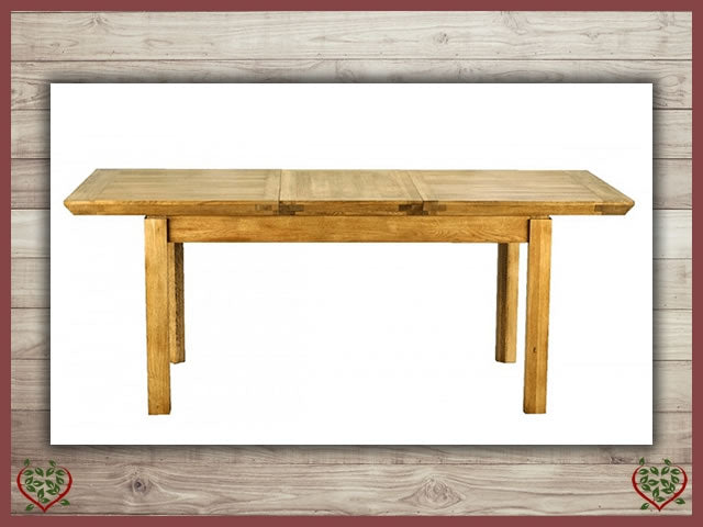 TEMPLE EXTENDING DINING TABLE | Paul Martyn Furniture UK