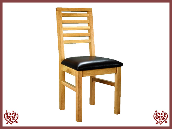 SMALL COTTAGE OAK DINING CHAIR | Paul Martyn Furniture UK