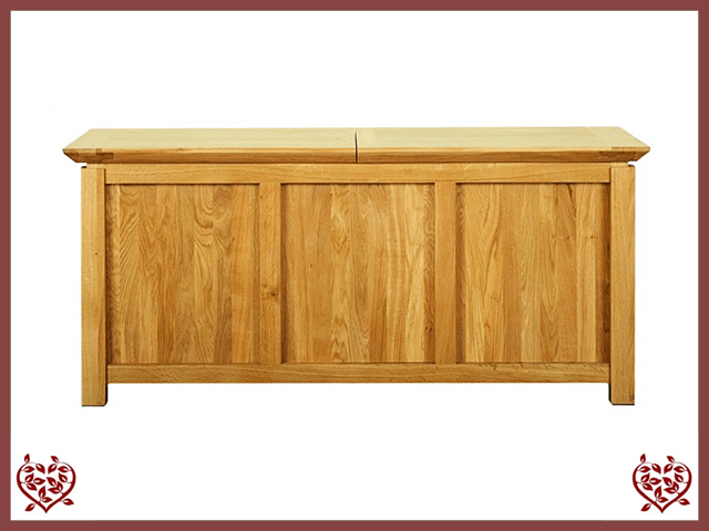 TEMPLE OAK CHEST WITH LID | Paul Martyn Furniture UK