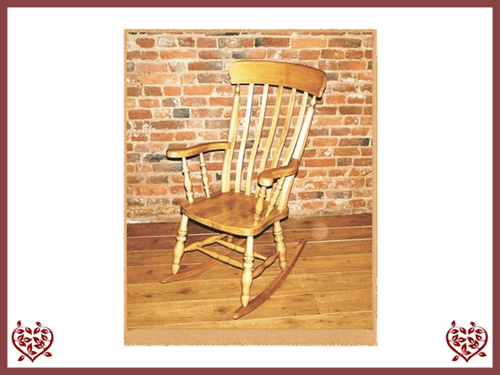 ROCKING CHAIR SLAT BACK