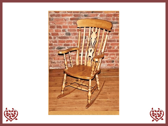 FIDDLE BACK ROCKING CHAIR | Paul Martyn Furniture UK