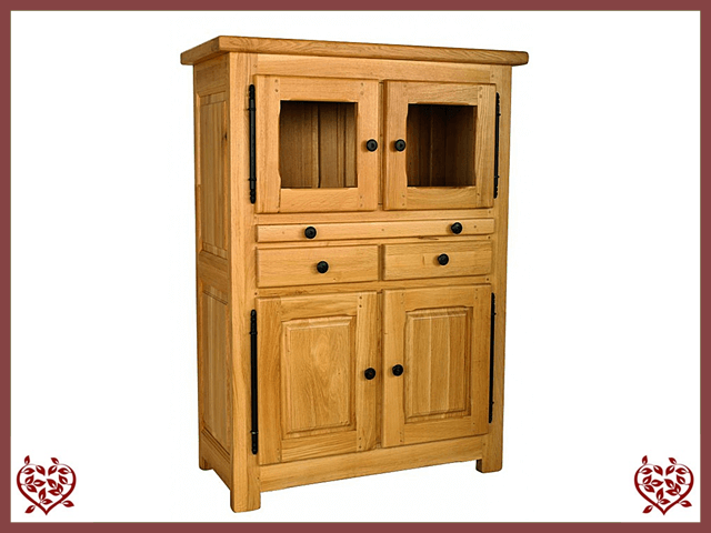 COUNTRY OAK DRINKS CABINET