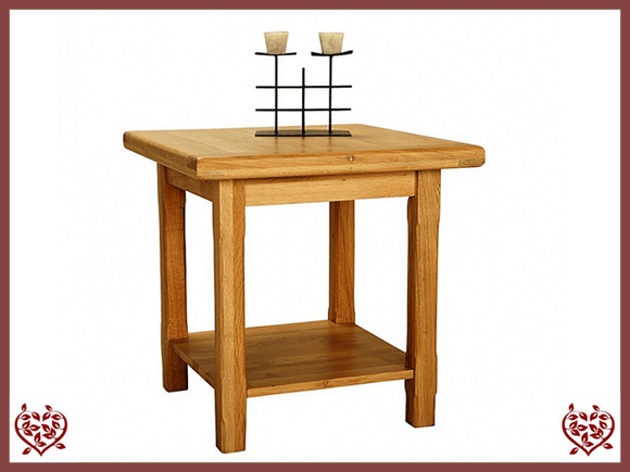 COUNTRY OAK LAMP TABLE - paul-martyn-furniture