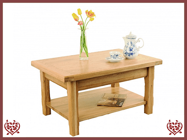 COUNTRY OAK COFFEE TABLE Paul Martyn Furniture UK