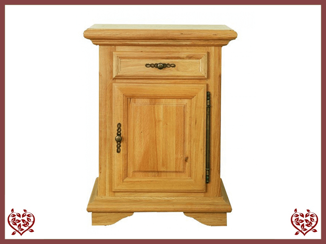 COURTIER OAK CUPBOARD ~ 1 DOOR/DRAWER | Paul Martyn Furniture UK