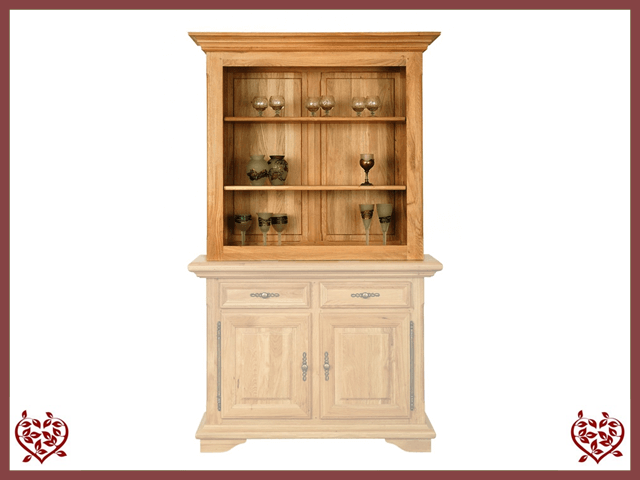 COURTIER OAK CABINET TOP ONLY