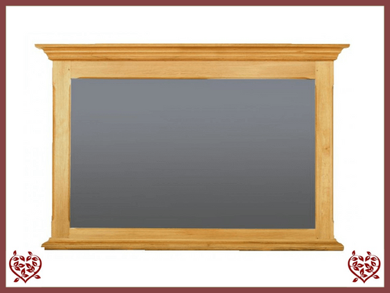 COURTIER OAK FURNITURE MIRROR