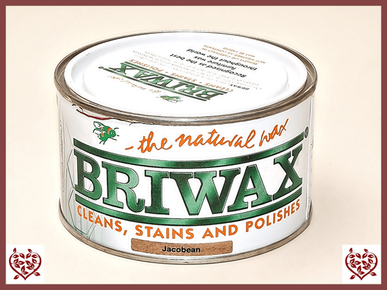BRIWAX – JACOBEAN WAX 370g | Wood Care