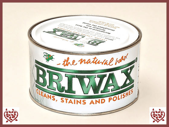 BRIWAX – CLEAR WAX 370G | Wood Care | Paul Martyn Furniture UK
