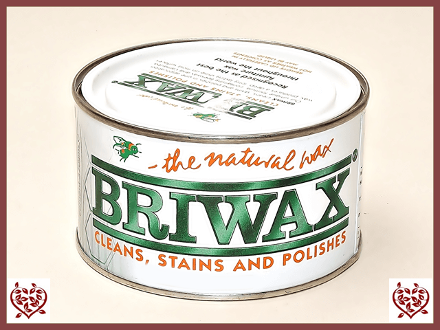 BRIWAX – CLEAR WAX 370g