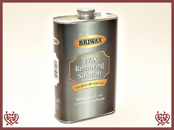 BRIWAX – WAX REMOVING SOLUTION 500ml Paul Martyn Furniture UK