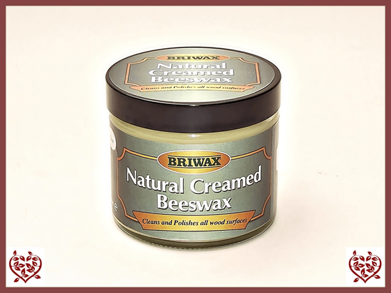 BRIWAX – NATURAL CREAMED WAX 250ml - paul-martyn-furniture