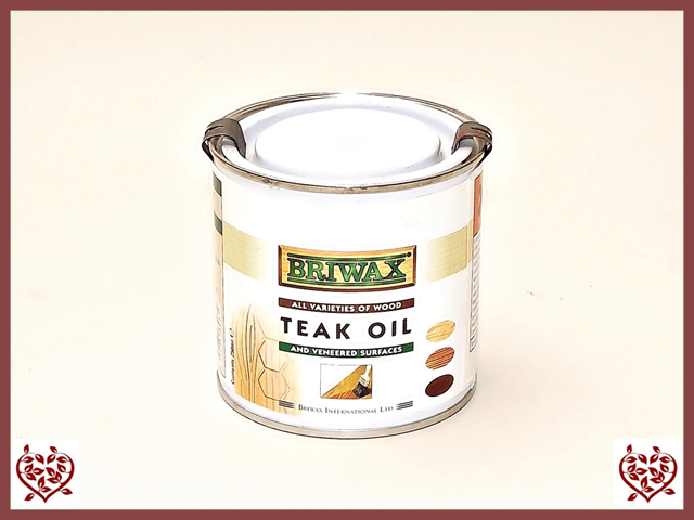 BRIWAX – TEAK OIL 250ml