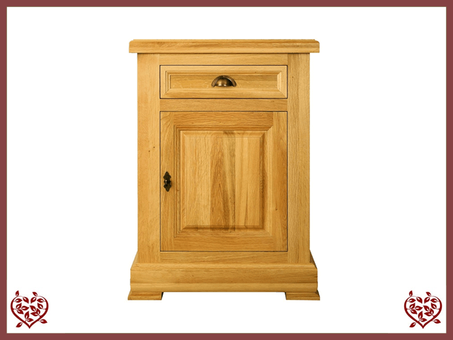 MANOR OAK SIDEBOARD – 1 DOOR/1 DRAWER
