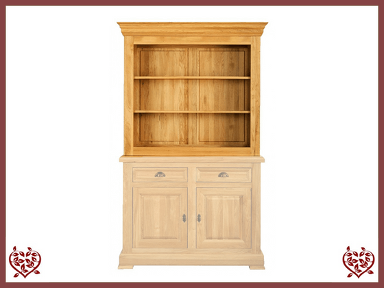 MANOR OAK CABINET TOP ONLY