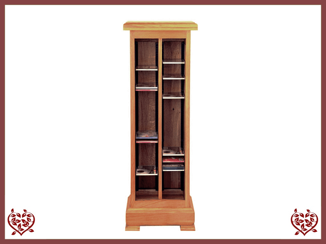 MANOR OAK CD RACK