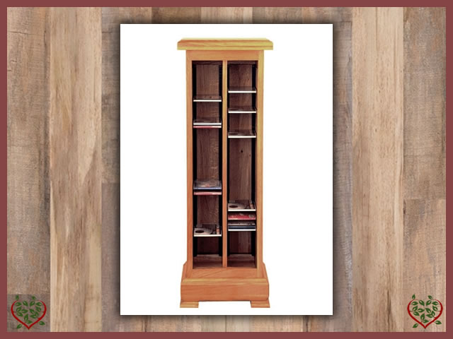 MANOR OAK CD RACK | Paul Martyn Furniture UK