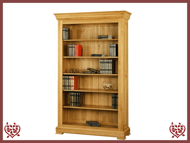 MANOR OAK BOOKCASE