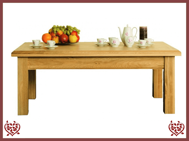 MANOR OAK COFFEE TABLE | Paul Martyn Furniture UK