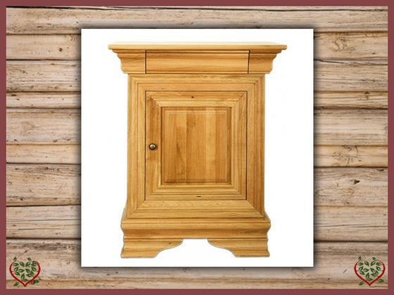 CHANCELLOR OAK CUPBOARD, 1 DOOR/1 DRAWER | Paul Martyn Furniture UK