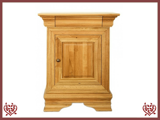 CHANCELLOR OAK CUPBOARD, 1 DOOR/1 DRAWER