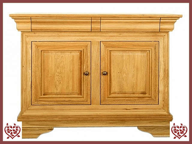 CHANCELLOR OAK SIDEBOARD, 2 DOORS AND 2 DRAWERS | Paul Martyn Furniture UK