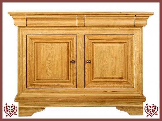 CHANCELLOR OAK SIDEBOARD, 2 DOORS AND 2 DRAWERS