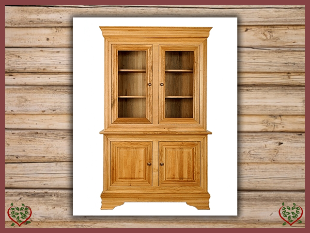 CHANCELLOR OAK CABINET BASE AND TOP, 4 DOORS | Paul Martyn Furniture UK