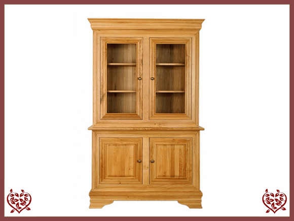 CHANCELLOR OAK CABINET BASE AND TOP, 4 DOORS - paul-martyn-furniture