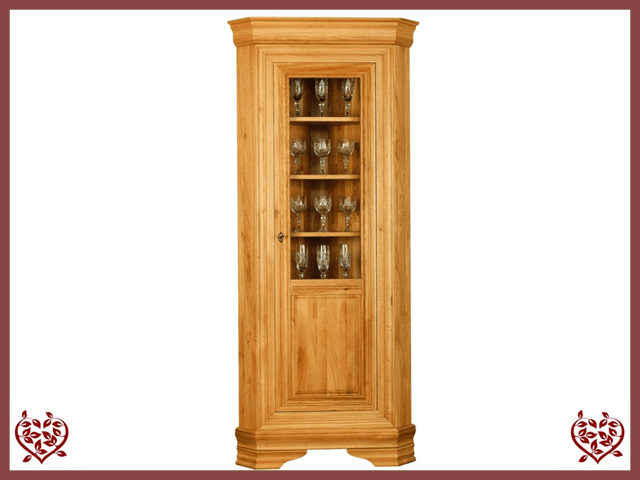CHANCELLOR CORNER DISPLAY CABINET – 1 DOOR