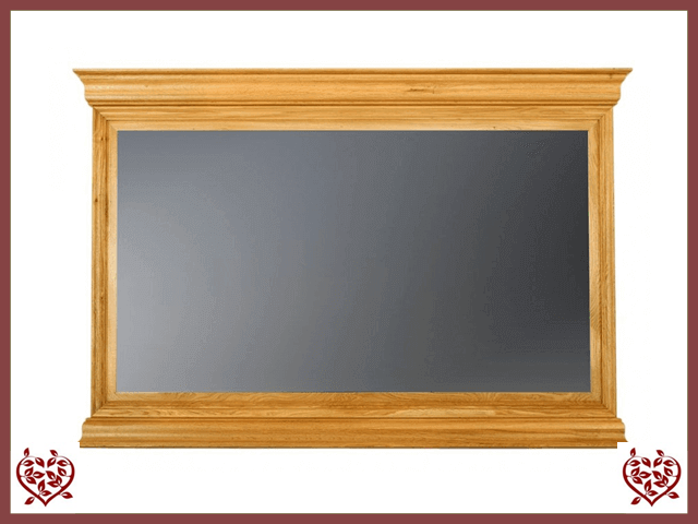 CHANCELLOR OAK MIRROR - paul-martyn-furniture