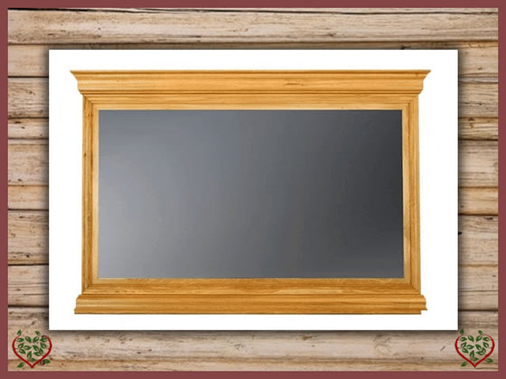 CHANCELLOR OAK MIRROR Paul Martyn Furniture UK