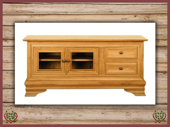 CHANCELLOR TV UNIT – 2 DOORS/DRAWERS | Paul Martyn Furniture UK