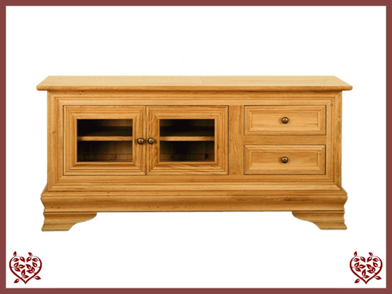 CHANCELLOR TV UNIT – 2 DOORS/DRAWERS
