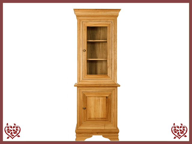 CHANCELLOR OAK CABINET BASE AND TOP – 2 DOORS | Paul Martyn Furniture UK
