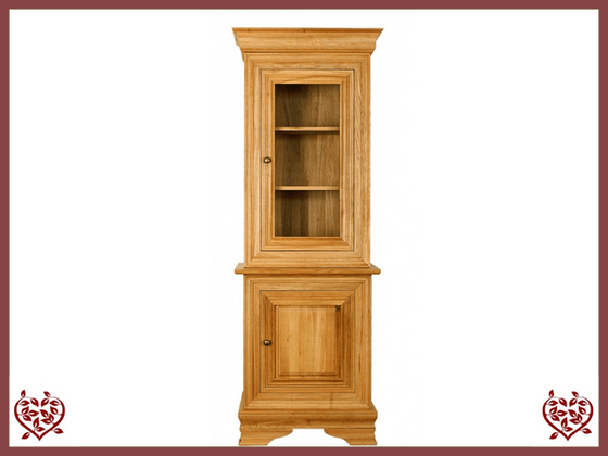 CHANCELLOR OAK CABINET BASE AND TOP – 2 DOORS