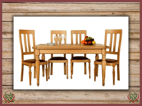 CHANCELLOR OAK DINING TABLE | Paul Martyn Furniture UK