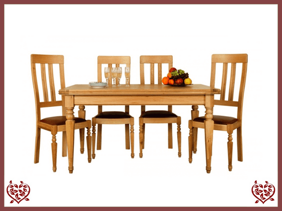 CHANCELLOR OAK DINING TABLE - paul-martyn-furniture