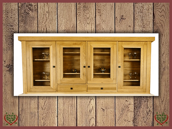 AUBUSSON OAK DRESSER TOP | Paul Martyn Furniture UK