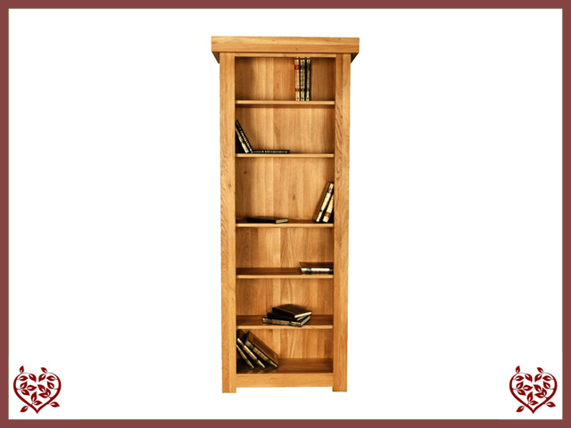 AUBUSSON OAK BOOKCASE