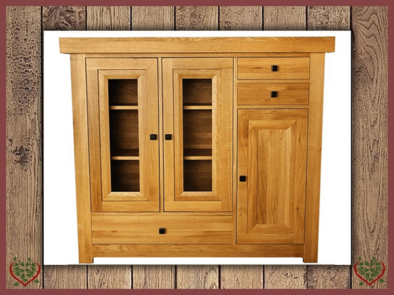 AUBUSSON OAK HIGHBOARD | Paul Martyn Furniture UK