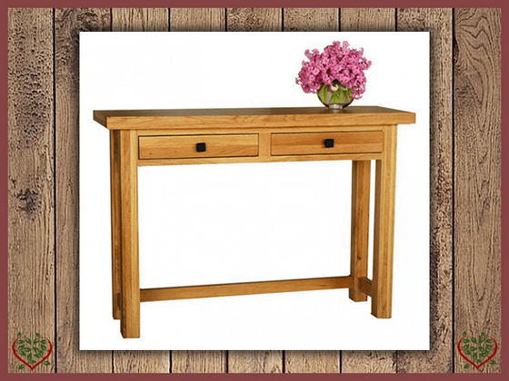 AUBUSSON OAK OCASIONAL HALL TABLE Paul Martyn Furniture UK