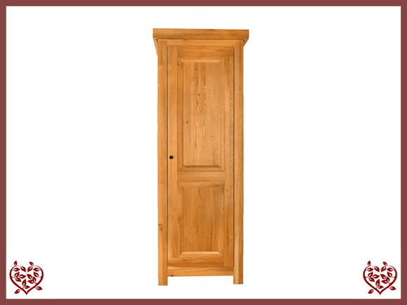 AUBUSSON OAK 1 DOOR WARDROBE - paul-martyn-furniture