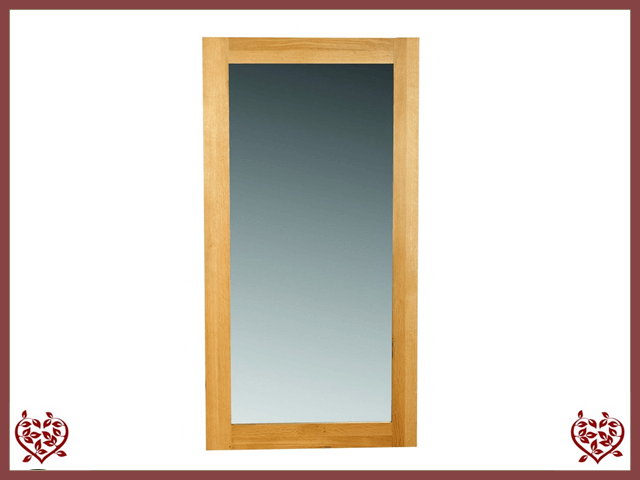 ELEGANCE OAK WALL MIRROR - paul-martyn-furniture