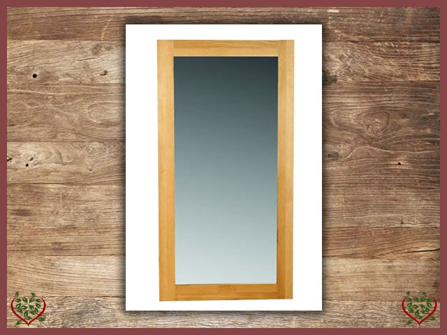 ELEGANCE OAK WALL MIRROR | Paul Martyn Furniture UK