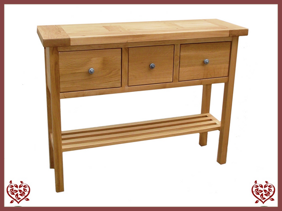 MATLOCK OAK HALL TABLE