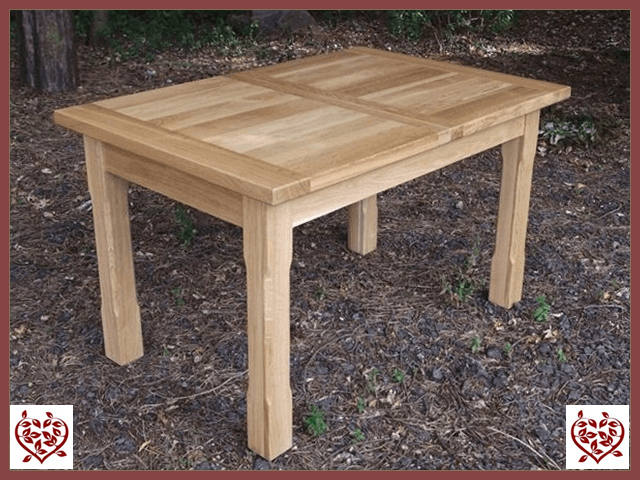 MATLOCK OAK EXTENDING DINING TABLE | Paul Martyn Furniture UK